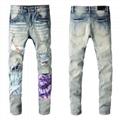 Newest AMIRI jeans men's Shorts pants