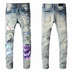 Newest AMIRI jeans men's Shorts pants women Trousers  DSQ jeans