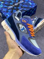 newest    sports shoes Leather + 3D print Color-color mesh luminous sneaker shoe (Hot Product - 1*)
