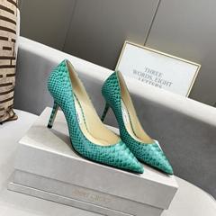 newest top AAA wholesale JIMMY ZHOO LADY SHOES jimmy shoo high-heeled shoes