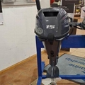 Used Yamaha 15 HP 4-Stroke Outboard Motor Engine