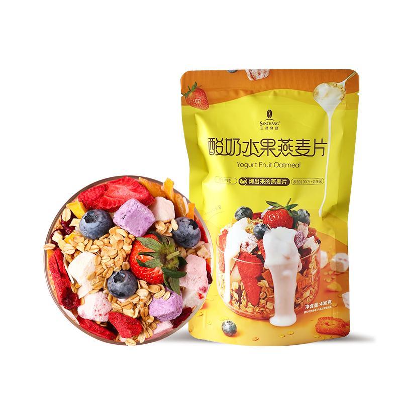 酸奶水果燕麦片 1
