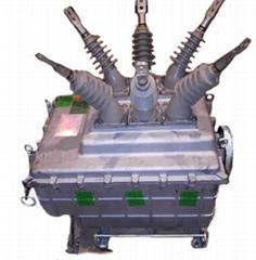 户外高压柱上SF6真空六氟化硫断路器