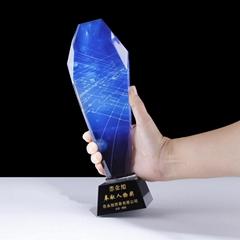 恋永旭水晶奖杯