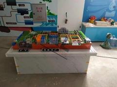 供應污水處理廠模型,自來水廠模型,城市污水處理