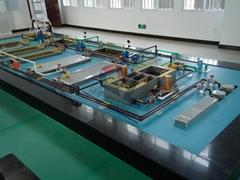 供應化工污水處理模型,城市污水處理,污水處理一體化裝置