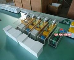 鑽機模型  鑽井平台 大港鑽機模型