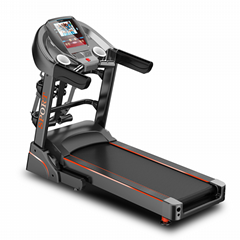 豪华电动跑步机家用款静音减震室内折叠式多功能彩屏wifi健身器材