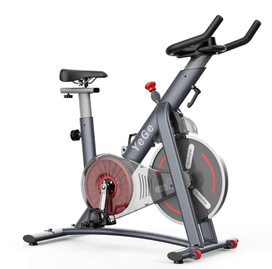豪華動感單車健身器材家用健身車室內腳踏車運動減肥器健身房單車 1