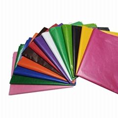 彩色蠟光紙印刷定製廠家專業定做衣服拷貝紙服裝襯紙 可來樣設計