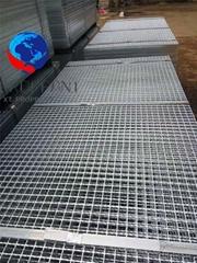 普通壓焊鋼格柵板