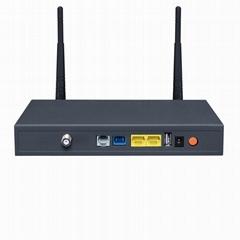 深圳龍崗冠聯通信生產銷售雙口鐵殼ONU加WiFi