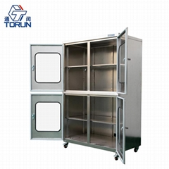 Industrial Auto Humidity Control Nitrogen Purge Dry Cabinet