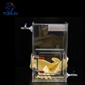 300*400*500 Inert Gas Operation Box,Lab Research Transparent Mini Acrylic Glove  2