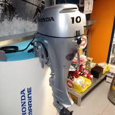 Free Shipping USED-NEW Honda 10 HP 4-Stroke Outboard Motor Engine