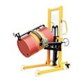 Hydraulic Manual Hand Lift Oil Drum Pellet Truck Stacker