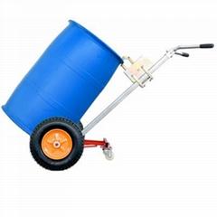 2 4 wheels oil drum hand truck fuel tank cart Simple Platform
