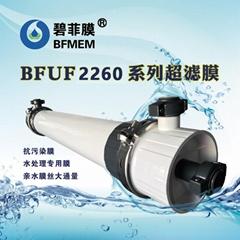 碧菲分離膜外壓柱式PVDF材質水處理超濾膜