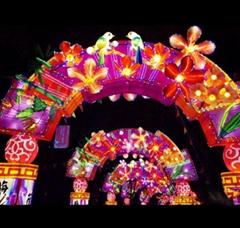 春节灯会动物