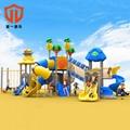 童一遊樂儿童高端遊樂場滑梯戶外滑梯幼儿園滑梯小區滑滑梯定製 2