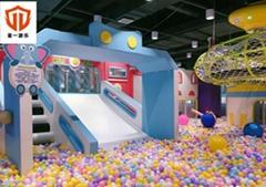 儿童親子餐廳主題遊樂園大型淘氣堡儿童樂園定製網紅餐廳遊樂設施