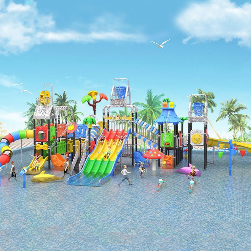 立建遊樂非標定製大型木質遊樂設備戶外公園儿童滑梯幼儿園攀爬 1