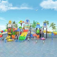 立建遊樂非標定製大型木質遊樂設備戶外公園儿童滑梯幼儿園攀爬