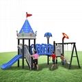 立建遊樂非標定製戶外儿童遊樂設備公園景區不鏽鋼滑滑梯攀爬 4