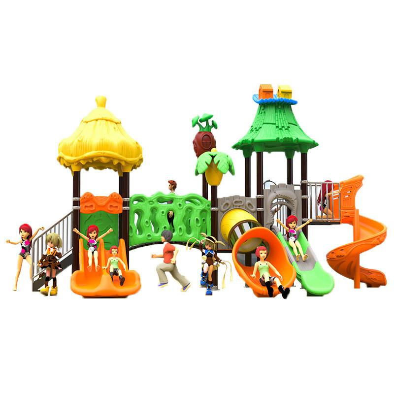 立建遊樂廠家定製公園景區大型遊樂設備 戶外儿童啟蒙滑滑梯彩色 2