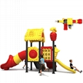 立建遊樂廠家定製公園景區大型遊樂設備 戶外儿童啟蒙滑滑梯彩色 4