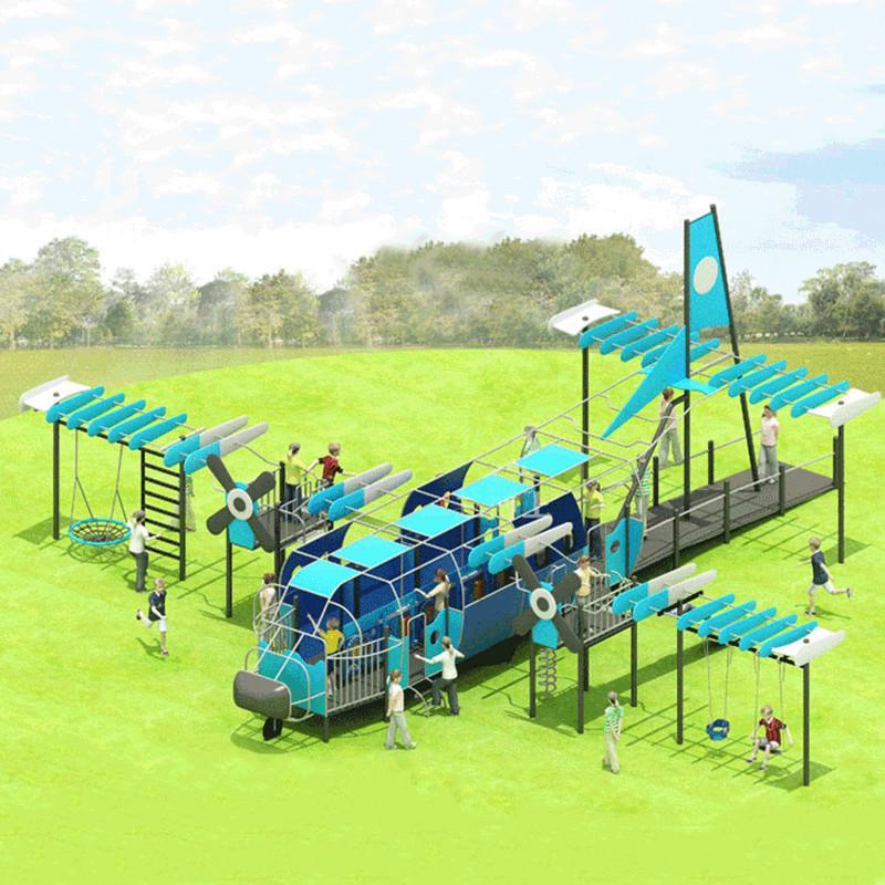 立建遊樂廠家定製公園景區大型遊樂設備 戶外儿童啟蒙滑滑梯彩色 1