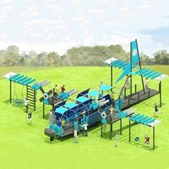 立建遊樂廠家定製公園景區大型遊樂設備 戶外儿童啟蒙滑滑梯彩色