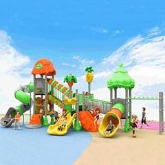 立建遊樂廠家定製大型戶外儿童遊樂設備 幼儿園滑梯不鏽鋼啟蒙