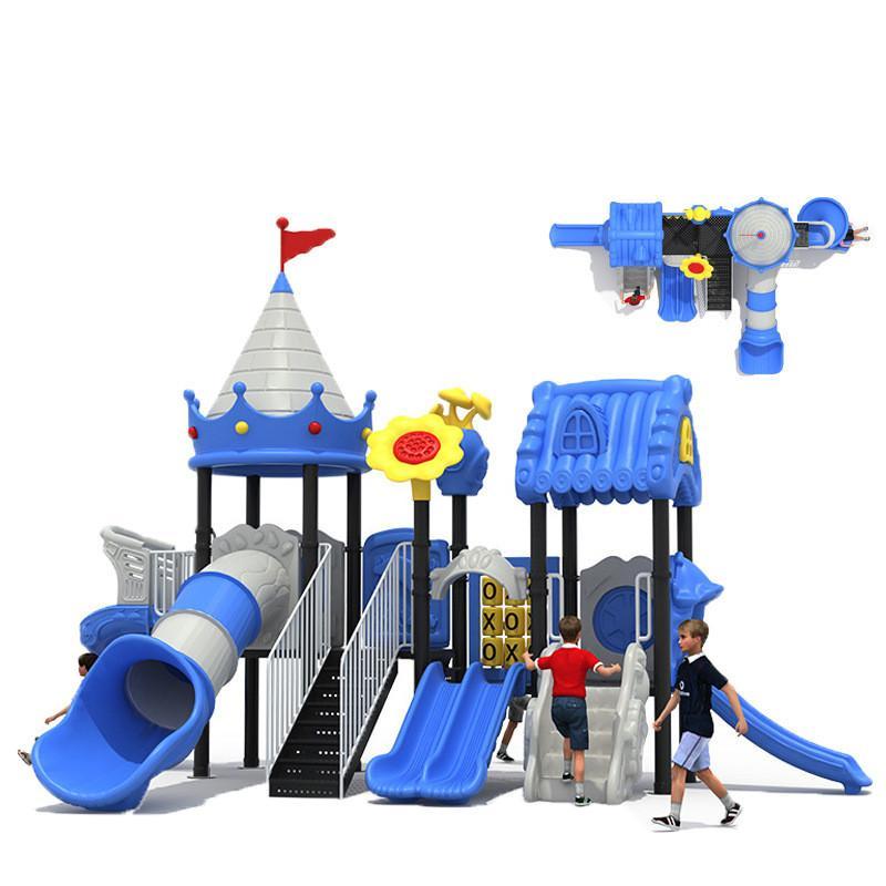立建遊樂廠家定製大型戶外儿童遊樂設備 幼儿園滑梯不鏽鋼啟蒙 2