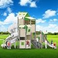 立建不鏽鋼滑梯戶外景區儿童遊樂