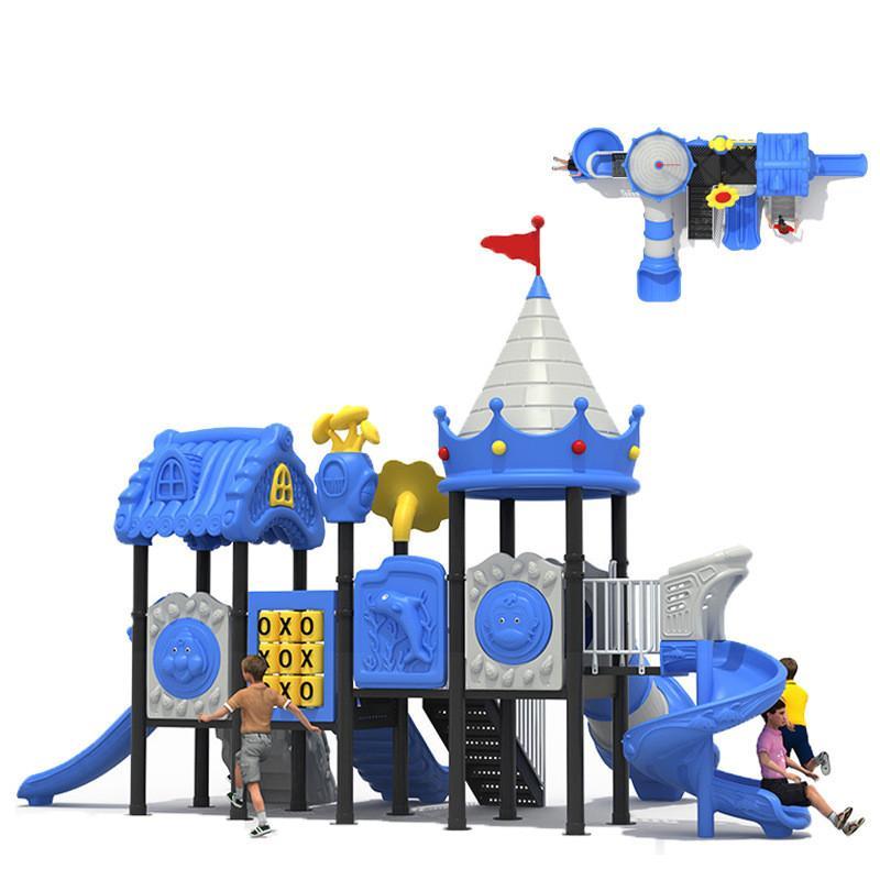 立建遊樂幼儿園滑梯小區公園塑料滑梯儿童戶外遊樂滑梯小孩室外 2
