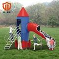 溫州童一科技大型遊樂設備 戶外不鏽鋼組合滑梯儿童遊樂滑滑梯 2