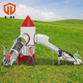 溫州童一科技大型遊樂設備 戶外不鏽鋼組合滑梯儿童遊樂滑滑梯 3