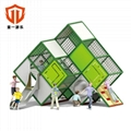 溫州童一科技大型遊樂設備 戶外不鏽鋼組合滑梯儿童遊樂滑滑梯 5