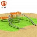 溫州童一科技小區幼儿園遊樂設備 戶外不鏽鋼滑梯儿童滑滑梯 2