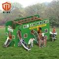 溫州童一科技小區遊樂園遊樂設備 室外幼儿園不鏽鋼組合滑梯 5