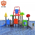 溫州童一科技幼儿園儿童遊樂設備 戶外組合滑梯大型水上樂園滑梯 2