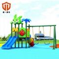 溫州統一科技遊樂園大型戶外遊樂設備 室外拓展訓練組合滑梯 4