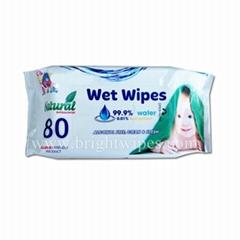 80's sensitive baby wipes