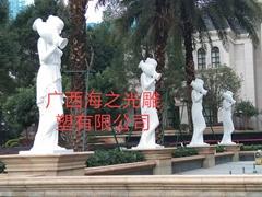 廣西玻璃鋼人物雕塑