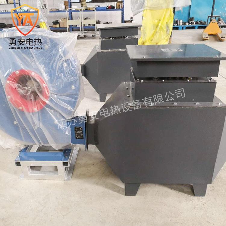 风道式电加热器对接式热风加热器自控温风道空气加热器厂家供应 1