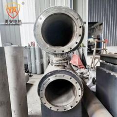 管道加熱器壓縮空氣氮氣加熱爐即熱式水導熱油液體加熱器