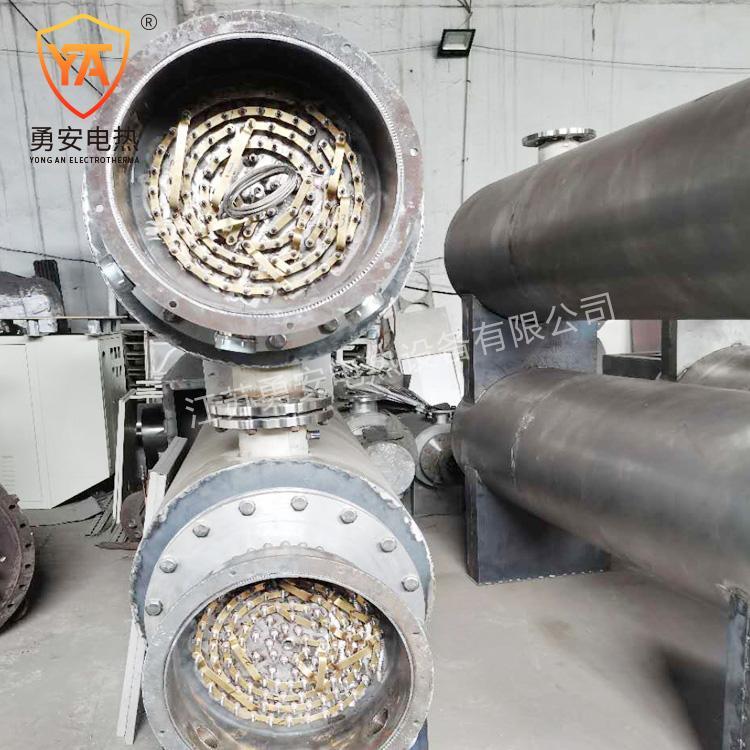 管道加热器压缩空气氮气加热炉即热式水导热油液体加热器 3