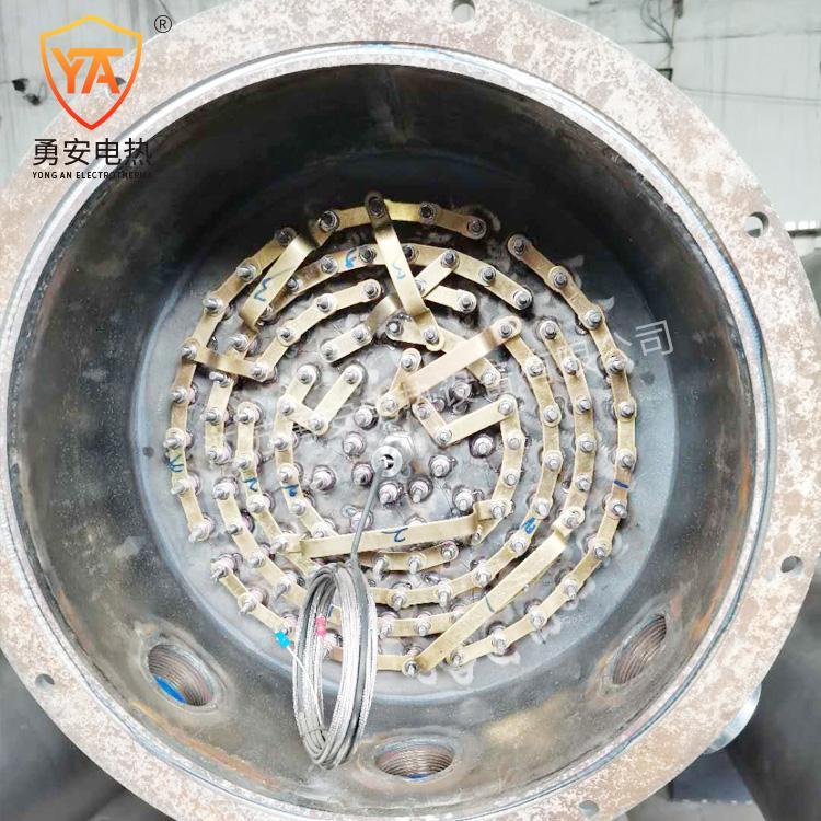 管道加热器压缩空气氮气加热炉即热式水导热油液体加热器 4