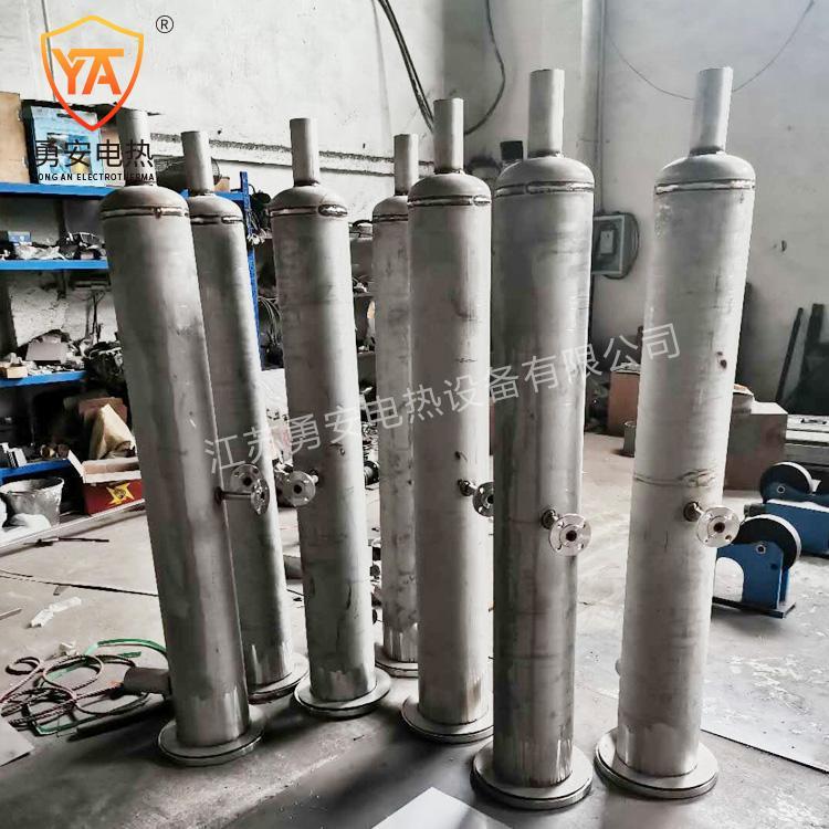 实验空气加热器液体气体管道加热器管道加热器非标定制导热油加热 2